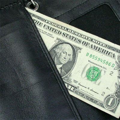 シルバーポイント 革財布 クロスモチーフ 紫 ロング三つ折 03