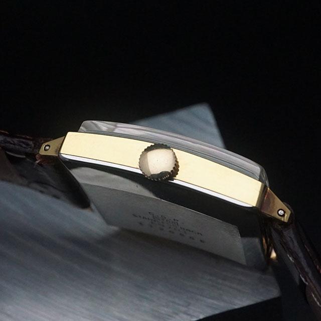 シチズン エクセル 角型 シルバーダイアル パラショック C.G.Pケース 美品 03