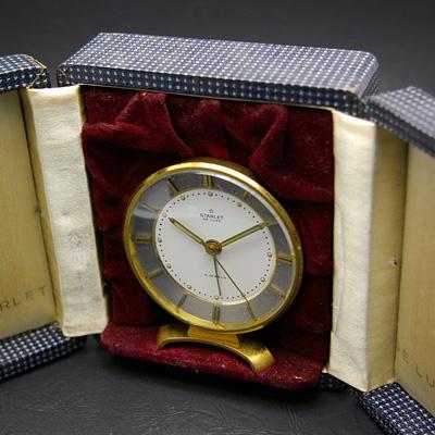 スターレット デラックス 置き時計型 トラベルウオッチ 02