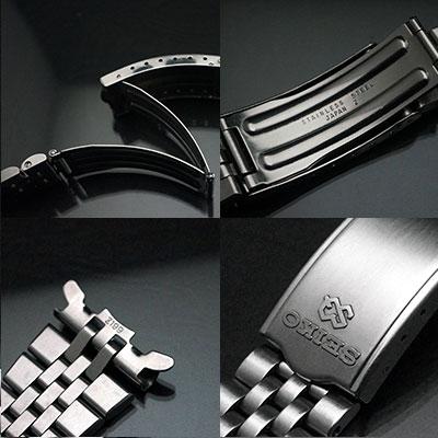セイコー 5連 ブレスレット SQロゴ 22mm 03