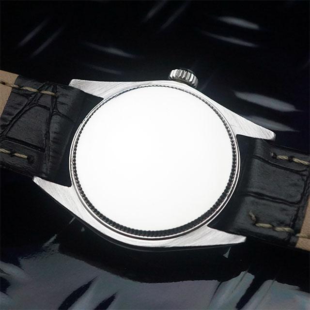ロレックス オイスター スピードキング Ref.6430 シルバーダイアル アンティークウオッチ 02
