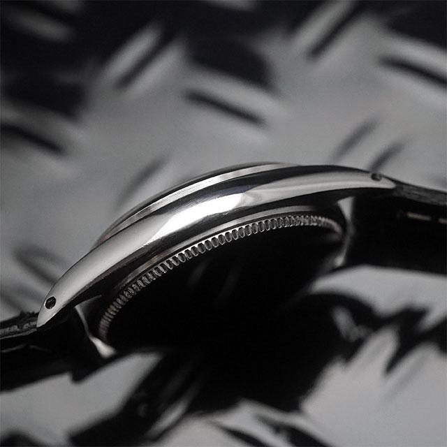 ロレックス オイスター スピードキング Ref.6430 シルバーダイアル アンティークウオッチ 05