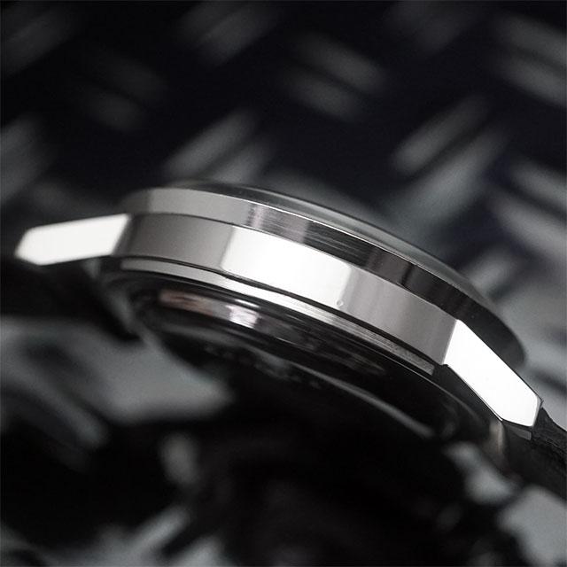 シチズン オートデーター 黒文字盤 アンティークウオッチ 良品 06