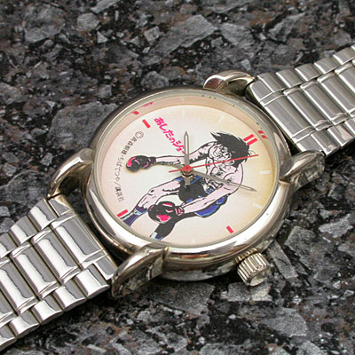 あしたのジョー 機械式腕時計 アンティークウオッチ 02