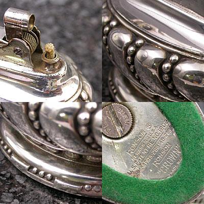 ロンソン 銀製 テーブルライター クラウン 03
