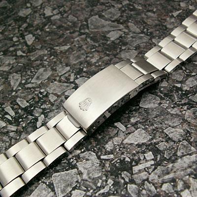 ロレックス 3連 巻き込みブレス 20mm 美品
