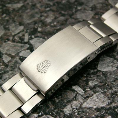 ロレックス 3連 巻き込みブレス 20mm 美品 02