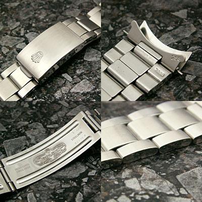 ロレックス 3連 巻き込みブレス 20mm 美品 03