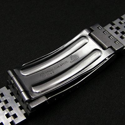 オメガ ブレスレット 18mm インデントスタイル シーマスター等 03