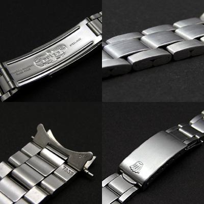 ロレックス 3連 巻込みブレス 17mm 希少 03