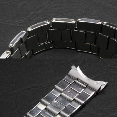 ロレックス 3連 リベットブレス 日本正規入荷用 19mm フルコマ 03