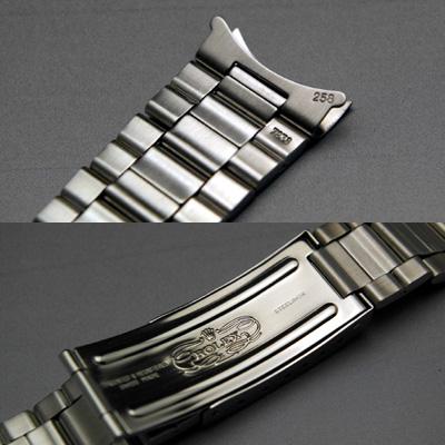 ロレックス 3連 巻き込みブレス 20mm デッドストック 03
