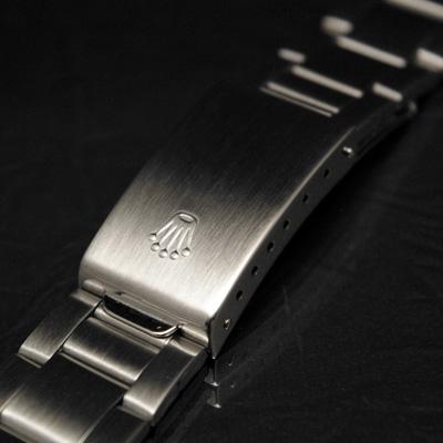 ロレックス 3連 巻き込みブレス 20mm デッドストック 02