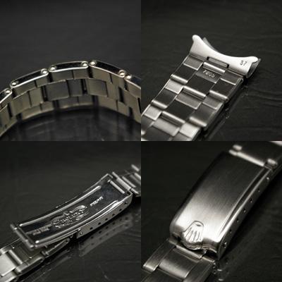 ロレックス 3連 リベットブレス 19mm 美品 03