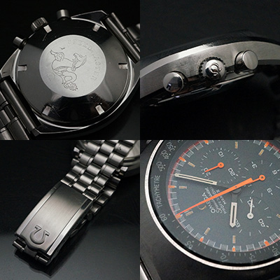 オメガ スピードマスター プロフェッショナル マーク2 オレンジ×グレーダイアル アンティークウオッチ 03