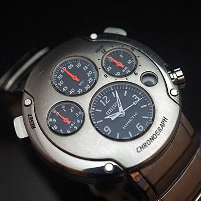 セイコー スポーチュラ キネティッククロノグラフ 1stモデル SBXZ00 1,000本限定 02