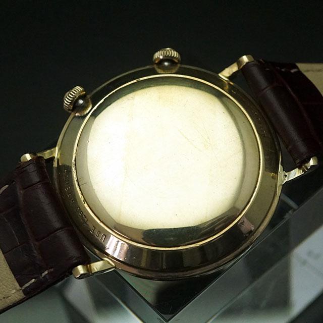 ルクルト メモボックス アラーム時計 手巻き 10KGF アンティークウオッチ 02