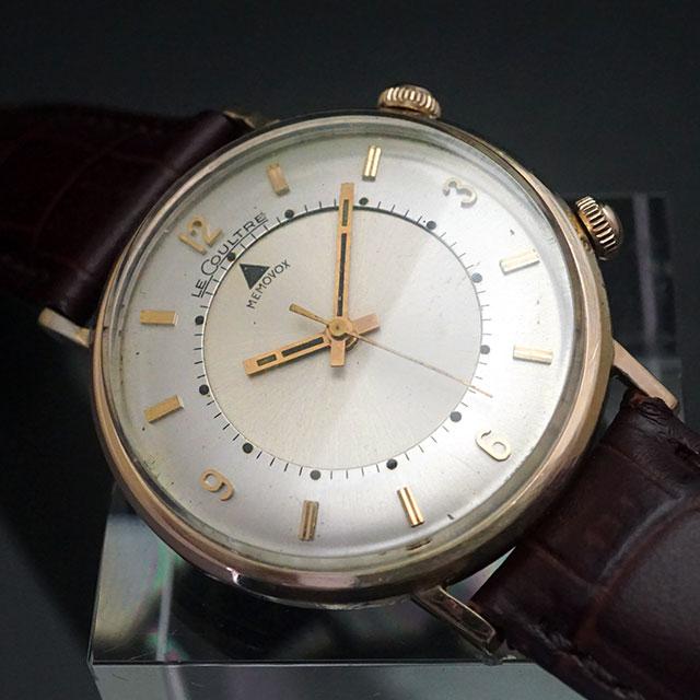 ルクルト メモボックス アラーム時計 手巻き 10KGF アンティークウオッチ 05