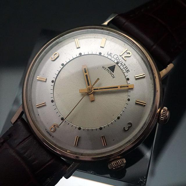 ルクルト メモボックス アラーム時計 手巻き 10KGF アンティークウオッチ 06