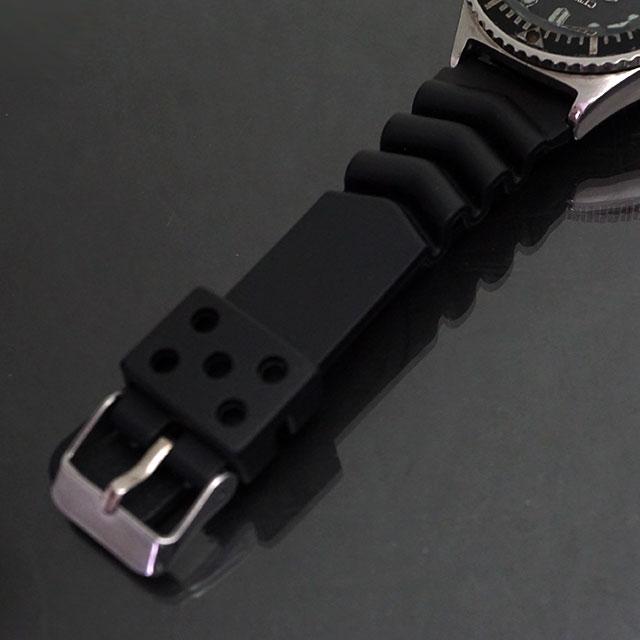 シチズン ダイバーズ 150m オートマチック 黒文字盤 アンティークウオッチ 04