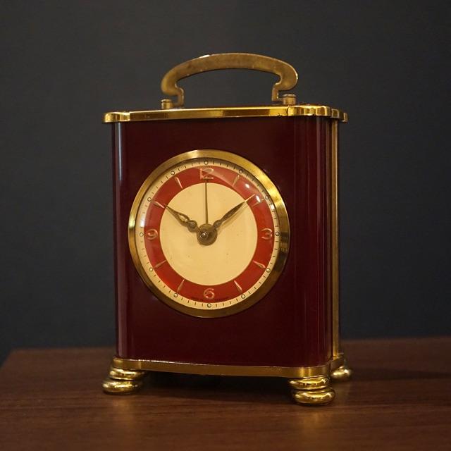 リュージュ社オルゴール アラーム置き時計 ドイツ製