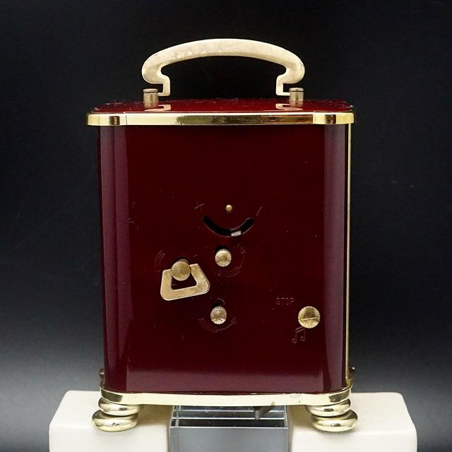 リュージュ社オルゴール アラーム置き時計 ドイツ製 02
