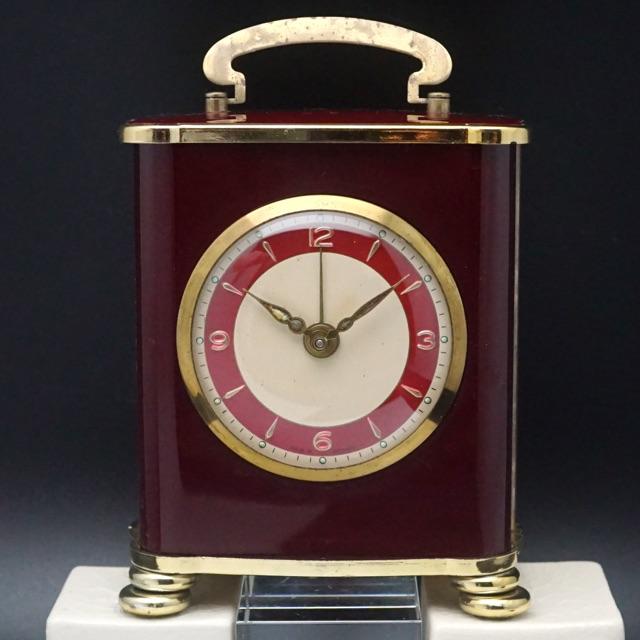 リュージュ社オルゴール アラーム置き時計 ドイツ製 07