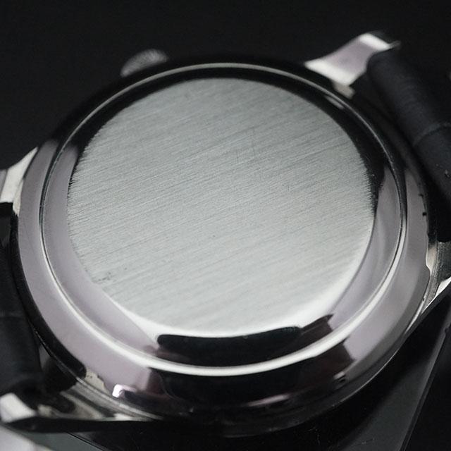 IWC 3針 オートマチック カレンダー 筆記体表記 シルバーダイアル Cal.8531 アンティークウオッチ 02