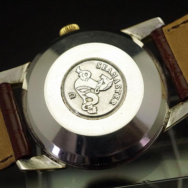 オメガ シーマスター カレンダー オートマチック ゴールドダイアル Ref.2849 Cal.503 アンティークウオッチ 02